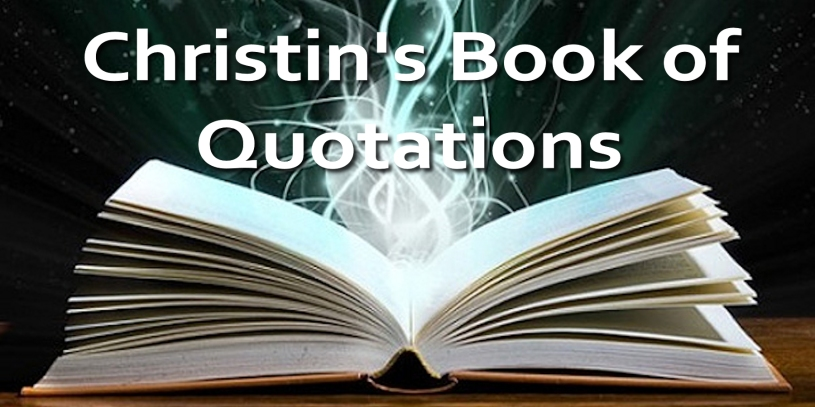 christins-quote-book